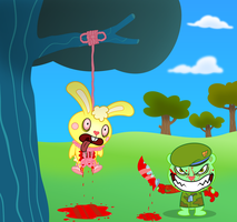 Happy Tree Friends - No Guts, No Glory by Psyxofthoros