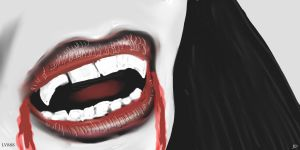 Vampire's mouth v881 by lv888