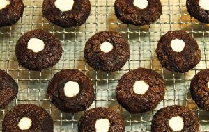 Chocolate Mint Thumbprints 2 by munchinees