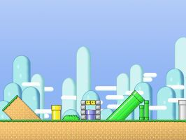 Mario World by Art-2