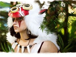 Mononoke Princess by moyan