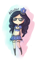 Officer Caitlyn by antenna-girl