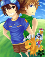 DIGIMON: Here we go by Dragons-Roar