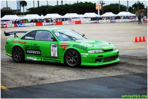 another S14 about to Drift by motion-attack