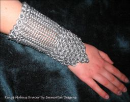 King Mobius Bracer by immortaldesigns