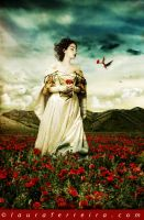Red Meadow by Laura-Ferreira