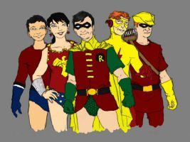 Teen Titans by SEELE-02