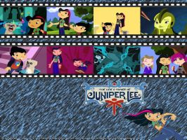 Juniper Lee Wallpaper no. 1 by malachitecat