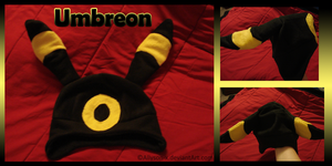Umbreon Hat by Allyson-x