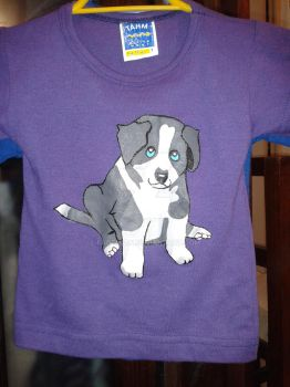 2nd puppy t-shirt by FaDemian