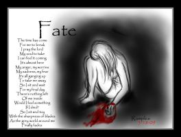 Fate - with poem by RumpleInk