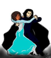 Severus X Chrissy-Dancing by TheSisters2