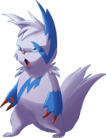 Sharpanth the Zangoose by Frozenspots