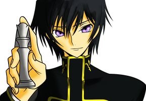Lelouch Checkmate Coloring by Lloyd-Lamperouge