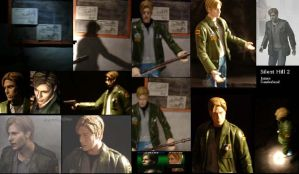 Silent Hill 2 James Figure SH2 by Baker009