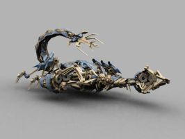 I 3DMAX scorpion by 841376252