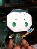 Loki papercraft by MeowRiddle
