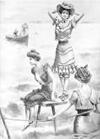 1901 bathing costumes by April-Mo