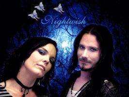 Anette and Tuomas Holopainen by IrenaT