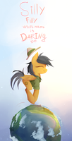 Silly Filly Whos Name Is Daring Do  by PFJerk