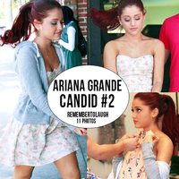Ariana Grande Candid #2 by RememberToLaugh