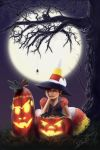 Candy Corn Witch by Eeddey