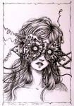 Sleeping Beauty (Inktober 27) by Doringota
