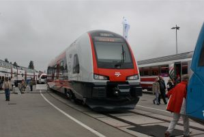 Innotrans 2010 - Norway FLIRT by ZCochrane