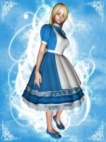 Alice In 3DLand by DarkNova666