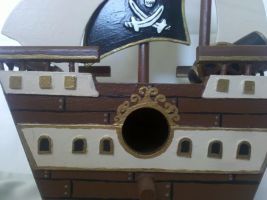 Jolly Roger Port Hole by tink502