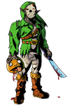 Link: The killer from Camp Hylia lake by MichaelJLarson