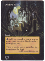 Altered card - Ancient Tomb by JohannesVIII