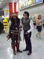 May Expo 2012 Captain Jack and Sweeny Tod by Uncharted-Deception
