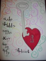 who holds the key to my heart by fierysoul