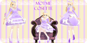 .:Motme:. Hime Lolita Cosette by Crystallyna