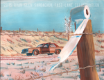Inspired By True Events... (Ford LTD Painting) by FastLaneIllustration