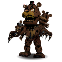 Nightmare Freddy Accurate by YinyangGio1987