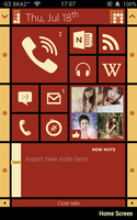RiverSquare, the flat theme for iPhone 4/4S by bka2