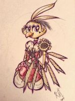 Steampunk Concept - Chica by Giumbreon4ever