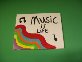 Music is Life by theonewhocanfly