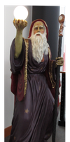 Wizard Front View by WDWParksGal-Stock
