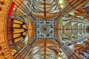 Lincoln Cathedral by Engazung