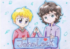 Johnlock by Tari-Ringeril