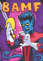 Sketch Card #7 - Nightcrawler by JasonRocket