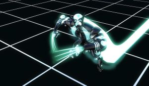Tron Wolverine by Ectogammot