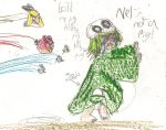 Nel vs Angry Birds by kingofthedededes73