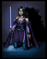 Jedi Tanake Trang - coloured by Sofie3387