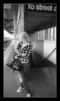 Waiting for the El by tarnishedhalo