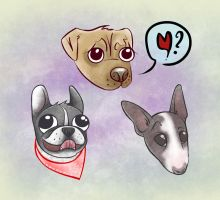 Mutts by tonicaaek