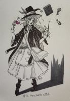 .day03: merchant witch by mimiclothing